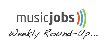 Music Jobs Weekly Round Up logo