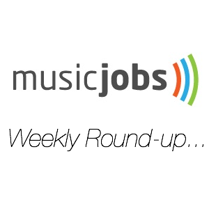 Music Jobs Weekly Round-up square logo new 2012 lee j