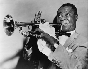 Louis Armstrong (by World-